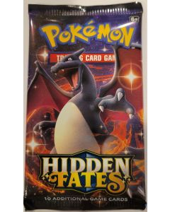 Pokemon Hidden Fates (single) pack 10 Cards