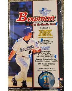 1998 Bowman Series 2 Baseball 24 pk 11 cards a pack (autos of Kerry wood, travis lee, adrian Beltre and others