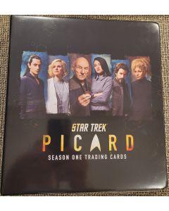 "Star Trek  ""Picard"" Season one Binder w/graphics"