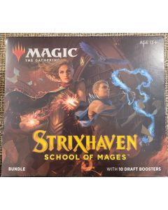 Magic the Gathering Bundle Strixhaven - school of Mages  10 packs + accessories