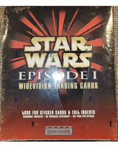 Star Wars Episode 1 Widevision trading Cards 24 pack (sticker cards + Foil Inserts)