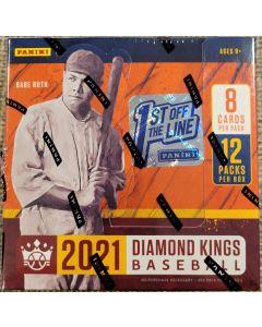 2021 FOTL Diamond Kings Baseball 12 packs 8 cards, 2 auto's or mem (#15 or less in fotl)