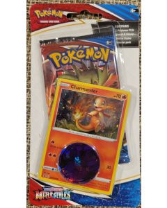"""Pokemon S&S Battlestyles """"Charmander"""" Blister w/1 pack carded."""