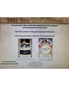 2021 Topps Tier One 12 Box Case Break PYT #1