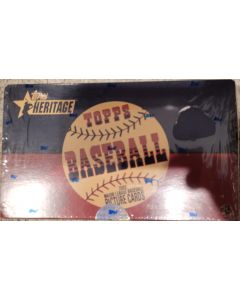2002 Heritage Retail 24 pk box, 24 pack  8 cards pack (hobby/retail) same contents in 2002.