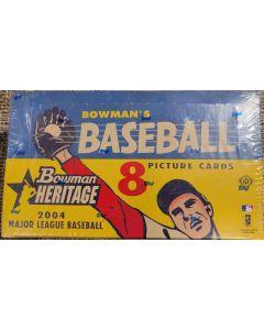 2004 Bowman Heritage Hobby Box 24 packs 8 cards per pack