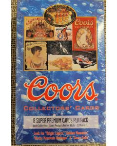 1995 Coor's Brewing Co. trading card box 36 packs 8 cards a  pack