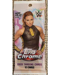 2020 WWE Topps Chrome 12 card value pack