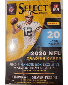 2020 Select Football Hanger box 20 cards