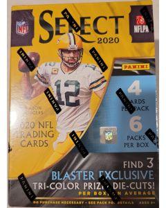 2020 Select Football Blaster Box 6 packs 24 cards