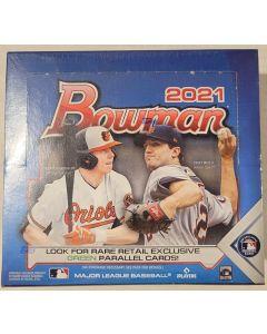 2021 Bowman Retail 24 pack Box