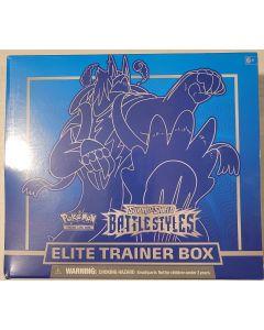 Battle styles Trainer Box Blue single strike 8 packs + Accessories/booklet