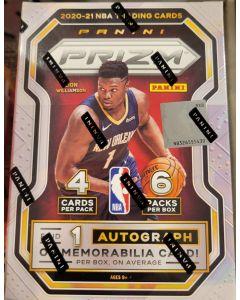 2020/21 Prizm Basketball Blaster Box 6 packs 4 cards