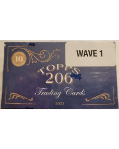 2021 T-206 Wave 1 10 card Box (wave 1 is 50 cards)