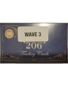 2021 Topps T206 Wave 3 10 cards per box third in a series of 10 waves
