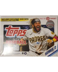 2021 Topps Series 2 Target Giant Box 16 packs 16 cards pack