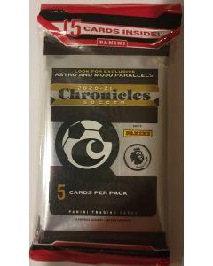 2020-21 Chronicles Soccer Cello packs 3 pks 15 cards