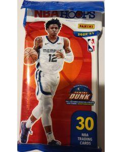 2020/21 nba Hoops 30 card hanger pack