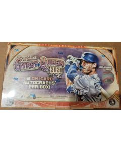 2021 Topps Gypsy Queen Hobby Box 24 packs 2 on card auto's per box on average