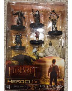 Heroclix the hobbit epic campaign 8 figure starter set.