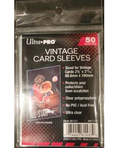 ultra pro vintage sleeve (#81537) for 1952-1956 topps and other vintage cards