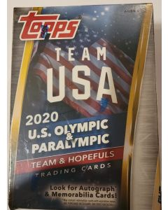 2020 Topps team usa us olympic and paralympic trading card set  look for auto/relics.