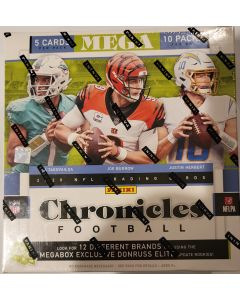 2020 Chronicles NFL Football Mega box 10 pks 5 cards/pk