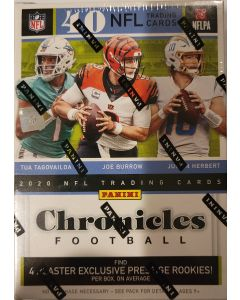 2020 NFL Chronicles Football Blaster 40 cards 4 prestiege rc exclusives