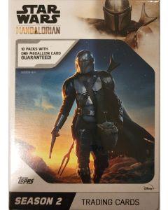 2020 Topps Mandalorian Season 2 Blaster 10 packs w/medallion card