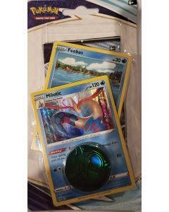 pokemon chilling reign feebas/milotic foil w/1booster pack