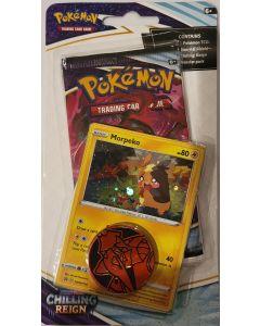 pokemon chilling reign morpeko foil w/1 pack
