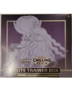 Pokemon Chilling Reign EBT Shadow rider Calyrex vmax, + accessores and 8 packs