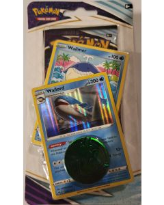Pokemon Blister Wailmer/Wailord foils w/1 pack