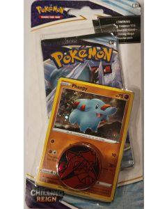 Pokemon Chilling Reign Phanppy foil/w 1 pack