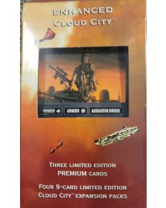 "Decipher Enhanced Cloud city ""IG-88"" 4 cloud city packs + special card"