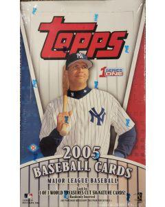 2005 Topps Series 1 Hobby box 36pk 10 cards pack