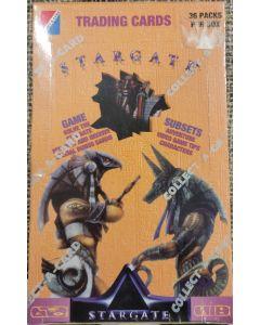 Stargate collector cards 1994 collect-a-card 36 pk box 100 card set
