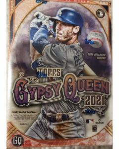 2021 Gypsy queen Blaster Box 7 packs 7 cards  includes 7 green parallels per box