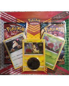 pokemon blister (Snorlax, Morpeko, Applin) foil w/2 pks (battlesyles, darkness ablaze) 1 each