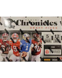 2021 Chronicles Draft Mega box, 12 packs 5 cards pack