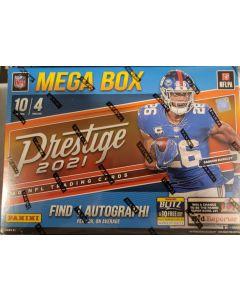 2021 Prestige NFL Mega Box 4 pks box/ 10 cards a pack 1 auto/5 numbered parallels per box on avg.
