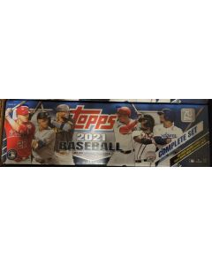 2021 Topps Blue  Factory set (series 1/2 w/ 5 alternate image variation rc) this is retail factory set