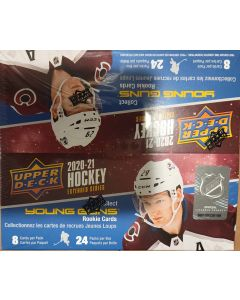 2020-21 UD upper deck extended 24pk retail box