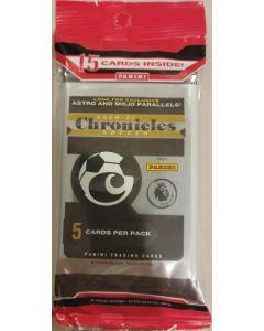 2020-21 Chronicles Soccer cello packs 3 x 5 card packs