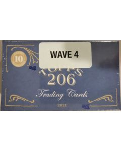 2021 Topps T-206 Wave 4 10 cards per box wave 4 of 10 for 2021