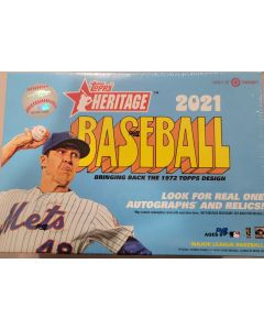 2021 Heritage Target Mega Box (with red border parallels and 2 die-cut 72 exclusives)