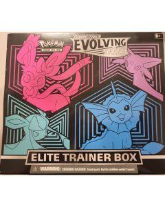pokemon Sword & Shield Evolving Skies Elite Trainer Box 8 Packs + Stuff