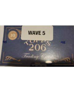 2021 Topps T-206 Wave 5  10 cards per box