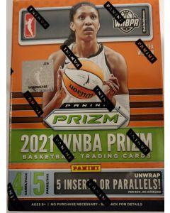 2021 WNBA Prizm Blaster box 5 packs 4 cards pk.  5 inserts or parallels per box  random autos
