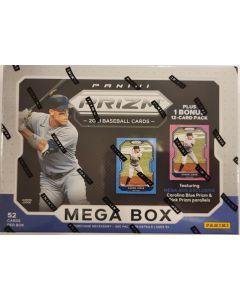 2021 Prizm Target Megabox 10 pk 4 cards + Bonus 12 card pk (6ea) carolina blue, pink refractors